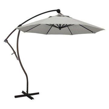 California Umbrella 9' Cantilever Umbrella in Granite
