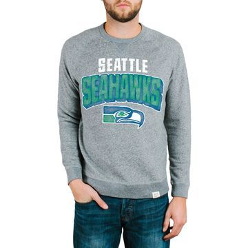 Seattle Seahawks Junk Food Formation Fleece Sweatshirt - Gray
