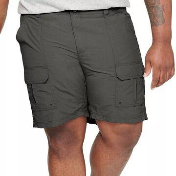 Big & Tall Croft & Barrow Outdoor Ripstop Cargo Shorts, Men's, Size: 52, Med Grey