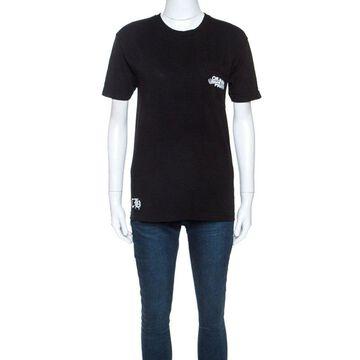 Off white x Chrome Hearts Black Cotton T-shirt S