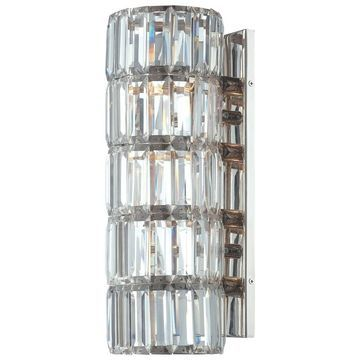 Minka Metropolitan Crysalyn Falls 4 Light Wall Sconce