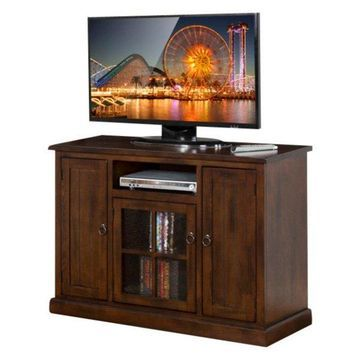 Santa Fe TV Console With Ring Pulls, 48