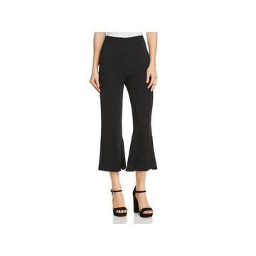 Kobi Halperin Womens Dress Pants Crop Pleated
