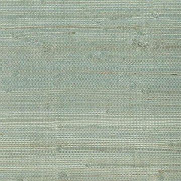 Kenneth James Myogen Golden Green Grasscloth Wallpaper