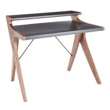 Lumisource Archer Desk in Grey