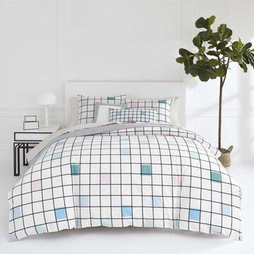 Jonathan Adler Paintbox Duvet Cover Set, Full/Queen