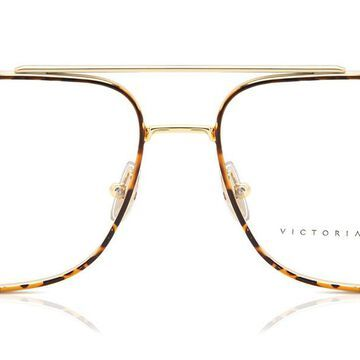 Victoria Beckham VB221 214 Womenas Glasses Gold Size 55 - Free Lenses - HSA/FSA Insurance - Blue Light Block Available