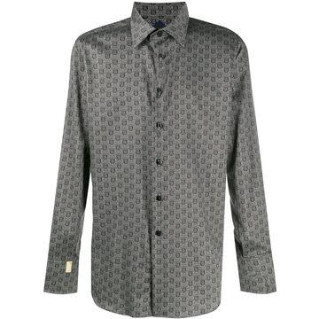 Milano Crest print shirt