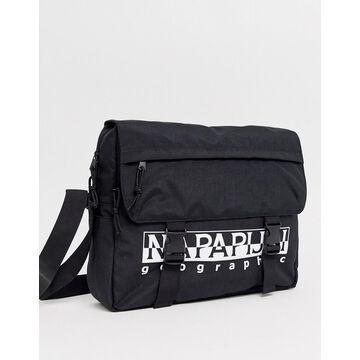 Napapijri Happy messenger bag in black