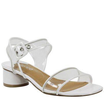 J. Renee Florencio Women's White Sandal 8.5 W