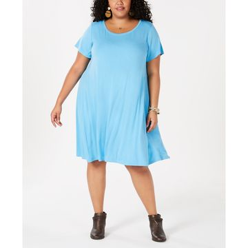 Plus Size A-Line Dress, Created for Macy's