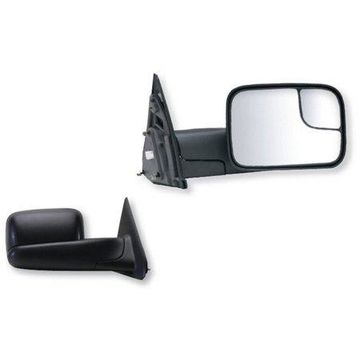 60113-14C - Fit System 02-09 Dodge Ram Pick-Up Truck 1500, 2500, 3500, w/towing pkg, spot Mirror, OEM Style Towing, Pair - check description for fitment
