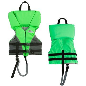 STEARNS 2000032676 HEADS UP CHILDS LIFE JACKET 30-50 LBS GREEN