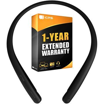 LG TONE Style HBS-SL5 Bluetooth Wireless Stereo Headset Black+Extended Warranty