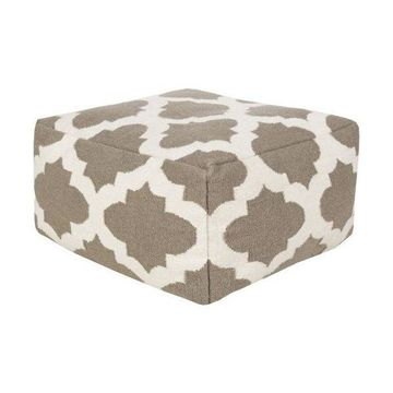 Surya POUF-155 Indoor Pouf from the Surya Poufs collection
