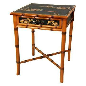 Oriental Furniture Ching End Table