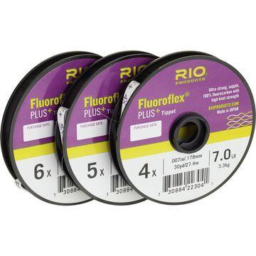 RIO Fluroflex Plus Tippet - 3-Pack