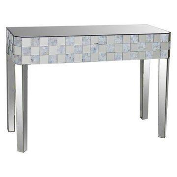 Acme Furniture Nasa Console Table, Mirrored
