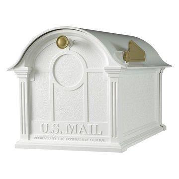 Balmoral Mailboxes, White