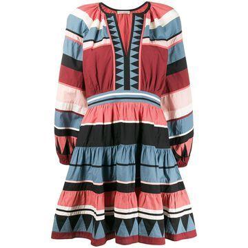 Mika striped cotton dress
