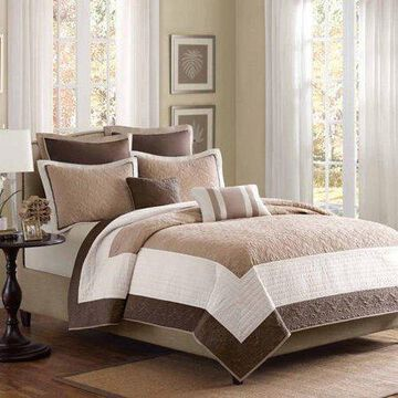 Home Essence Longmont 7-Piece Bedding Coverlet Set