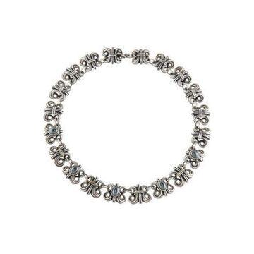 Hematite Chain Necklace silver
