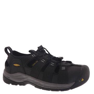 Keen Utility Atlanta II Cooler Sandal-Steel Toe Men's Black Oxford 8 E2