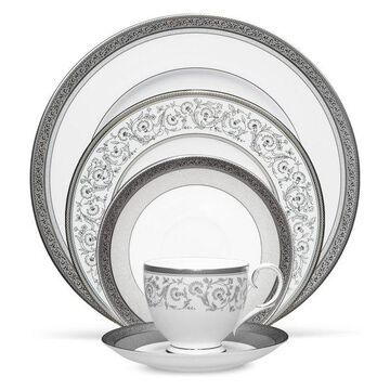 Noritake Summit Platinum 5-Piece China Setting, Set of 12