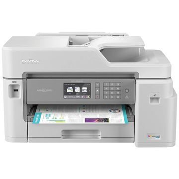 Brother INKvestment Tank All-In-One Wireless Color Inkjet Printer, Scanner, Copier, Fax, MFC-J5845DW