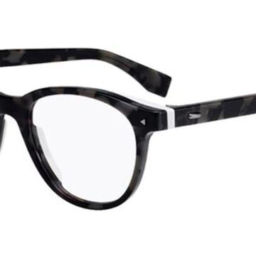 Fendi FF M0019 WR7 Men's Glasses Grey Size 50 - Free Lenses - HSA/FSA Insurance - Blue Light Block Available