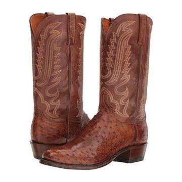 Lucchese Hueco (Barnwood) Cowboy Boots
