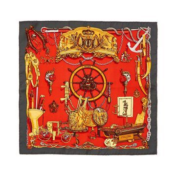 Hermes Musee, By Philippe Ledoux Silk Scarf