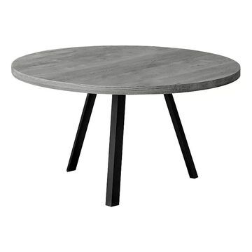Monarch Round Coffee Table, Grey