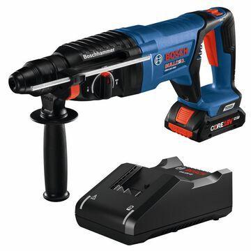 Bosch Bulldog 1-Batteries Core18v 1-in Sds-plus Cordless Rotary Hammer