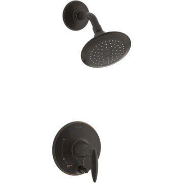KOHLER Alteo Oil-Rubbed Bronze 1-Handle Bathtub and Shower Faucet (Valve Not Included) | T45108-4-2BZ