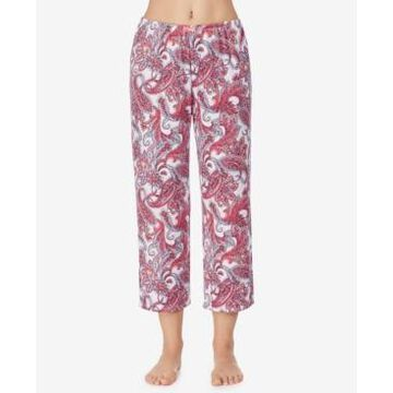 Ellen Tracy Cropped Pajama Pant