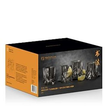 Riedel Nachtmann Shu Fa Smoke Double Old Fashioned Glass, Set of 4