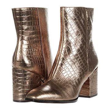 VIONIC Harper (Bronze Croc Metallic) Women's Boots