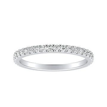 Auriya Classic 1/3ctw Diamond Anniversary Wedding Band Platinum