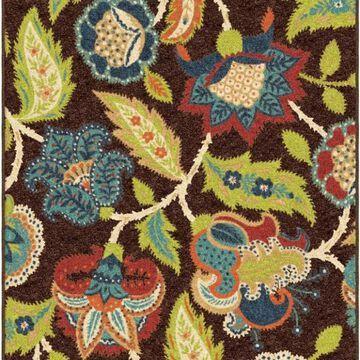 Orian Veranda Ethridge 13'x9' Brown Rug