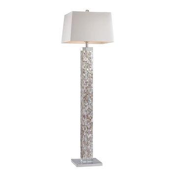 Dimond Lighting Mother Of Pearl Floor Lamp