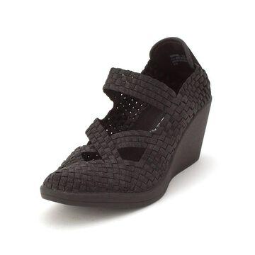 Steven by Steve Madden Womens Maryane Cotton Closed Toe Bridal Platform Sandals - 8.5