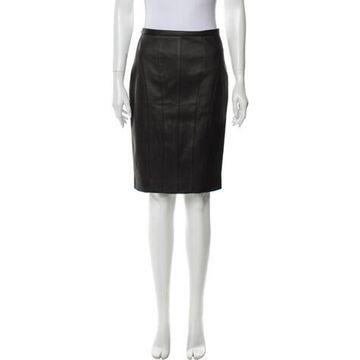 Knee-Length Skirt w/ Tags Black