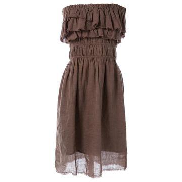 Isabel Marant Etoile \N Brown Linen Dresses