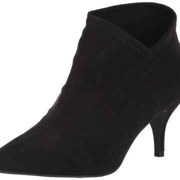 Mia Womens Ginette Pointed Toe Ankle Fashion Boots