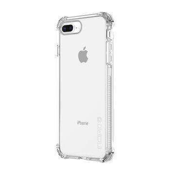Incipio Reprieve [SPORT] iPhone 8 Plus Case with Reinforced Shock-Absorbing Corners for iPhone 8 Plus - Clear/Clear