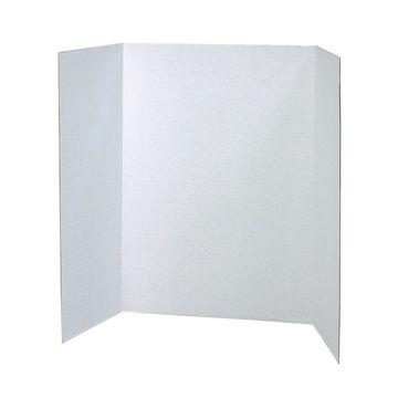 Pacon 12 pk 48''x36'' Single Wall Presentation Boards-White