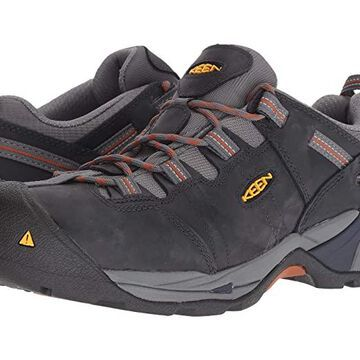 Keen Utility Detroit XT Steel Toe (Navy Peacoat/Leather Brown) Men's Work Boots
