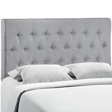 Modway Clique Upholstered Fabric Headboard, Queen