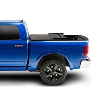 Extang 92701 Trifecta 2.0 Tonneau Cover; Black; Leather Grained Fabric; w/Rail System;